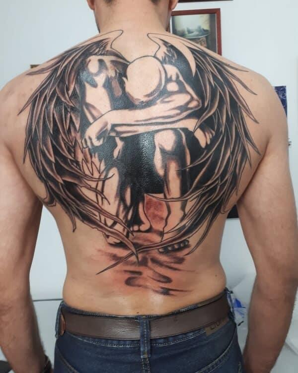 Beautiful Guardian Angel Tattoo Designs To Get Inked