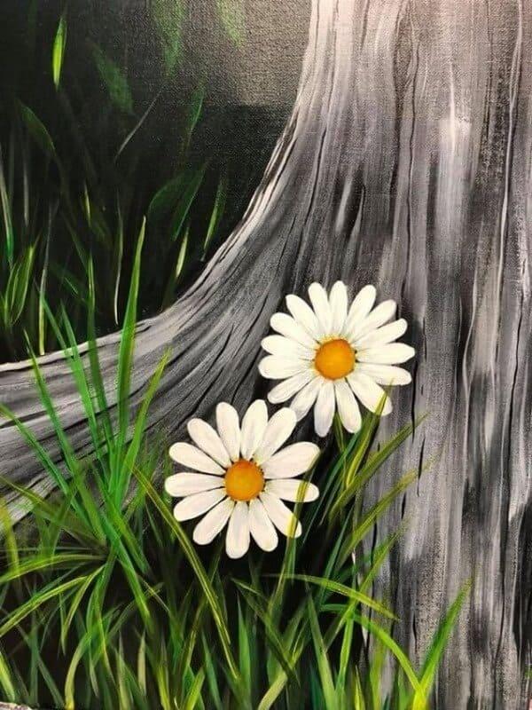 Easy Flower Painting Ideas For Beginners