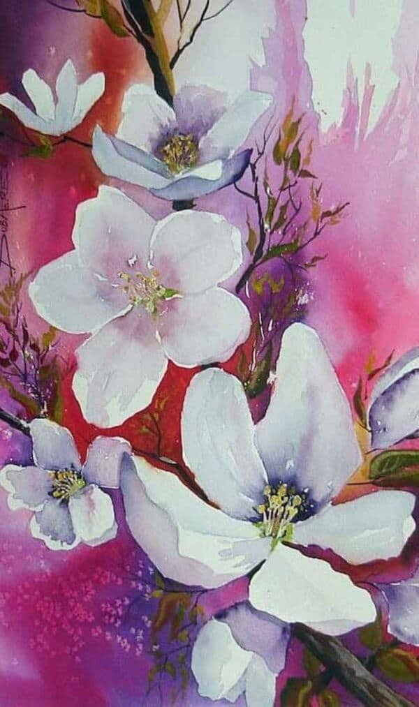 62 Easy Flower Painting Ideas For Beginners - Artistic Haven