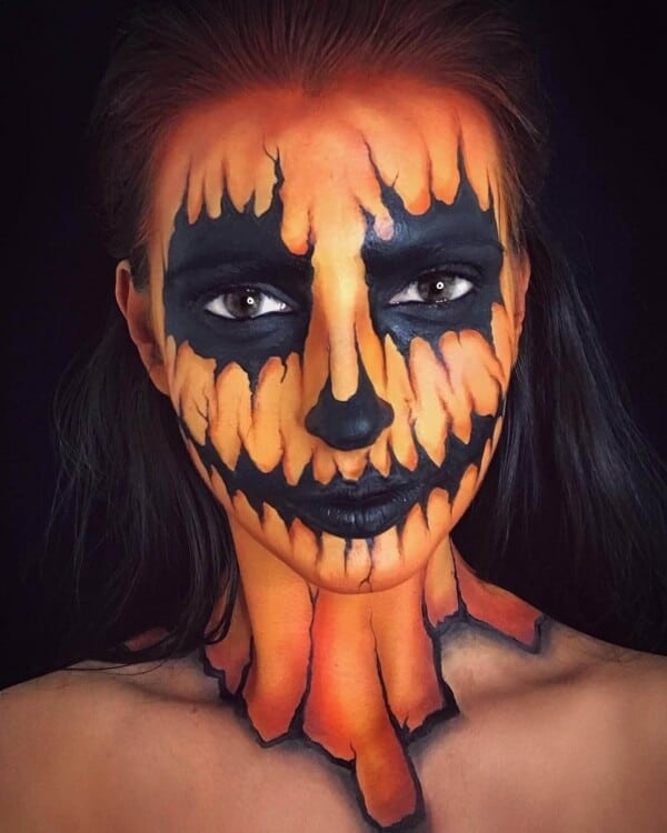 Easy Halloween Face Painting Ideas For Kids & Adults