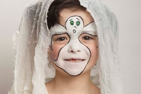 40 Easy Halloween Face Painting Ideas For Kids & Adults
