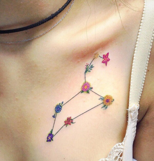 Leo Constellation Tattoo Designs To Get Inked