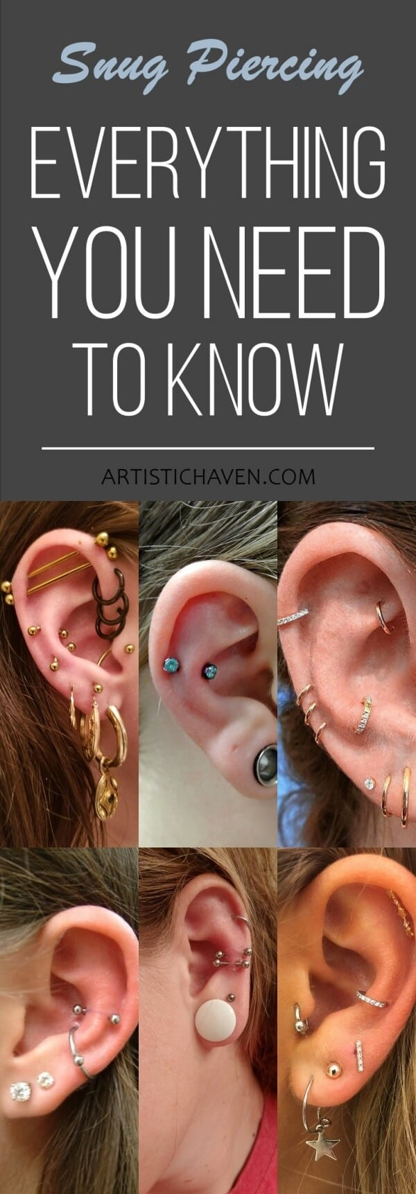 Snug Piercing: Everything You Need To Know