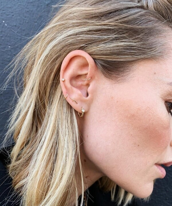 Auricle Piercing - The Complete Experience Guide With Aftercare