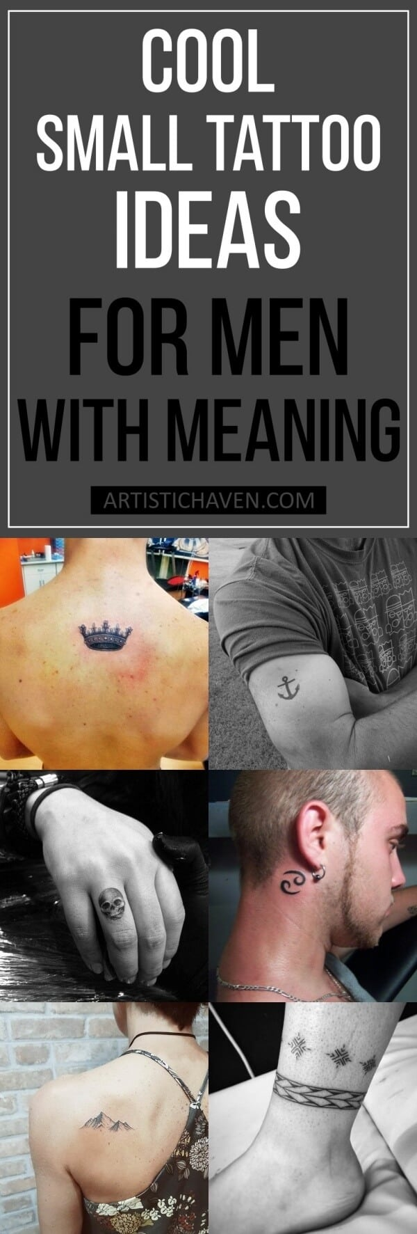 Cool Small Tattoo Ideas For Men With Meaning