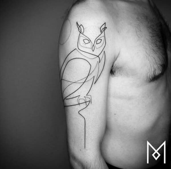 Single Line Tattoo Designs And Ideas