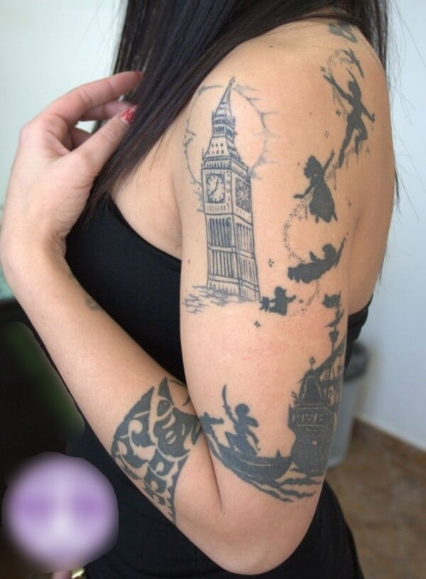 Best Peter Pan Tattoo Ideas To Get Inked