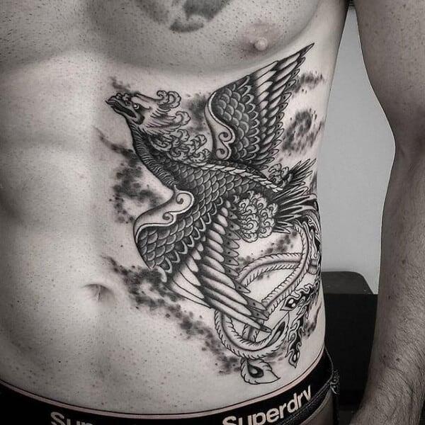 Cool Phoenix Tattoo Designs