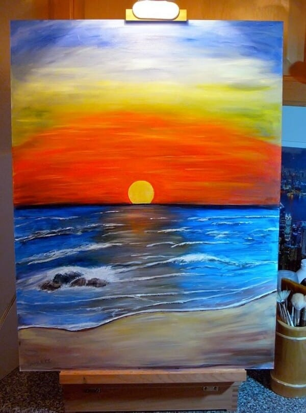 60 Easy Acrylic Painting Ideas For Beginners On Canvas Artistic Haven