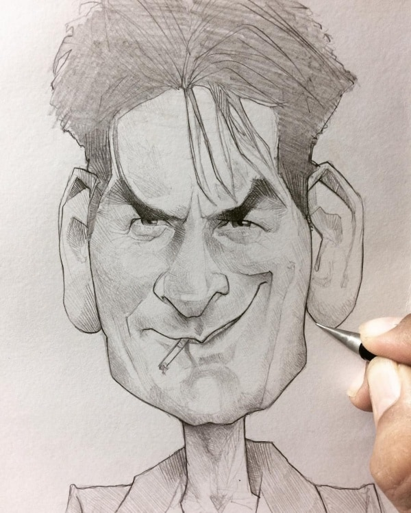 Cartoon Characters with Big Heads To Draw