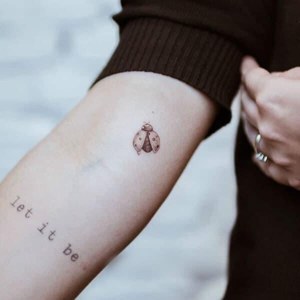 Cute Ladybug Tattoo Designs And Ideas