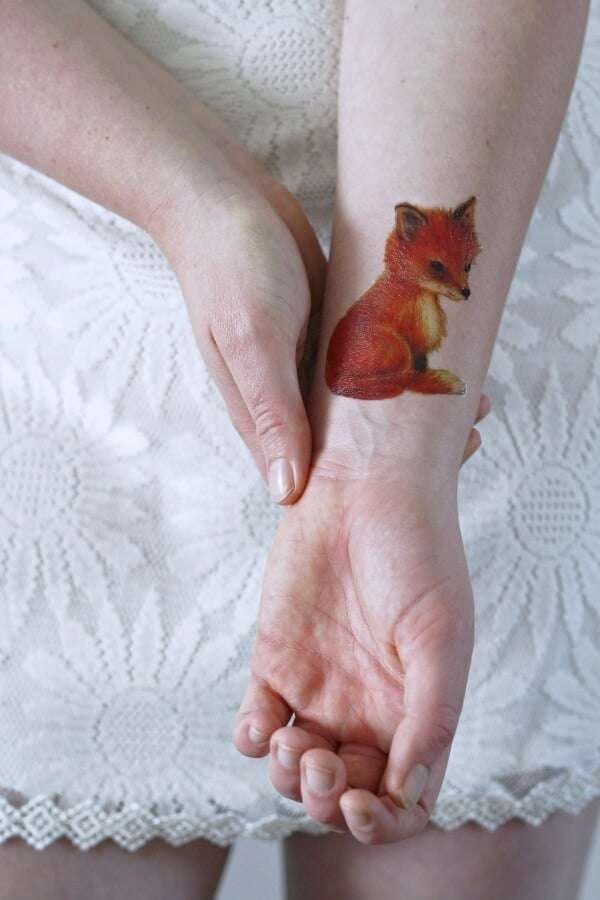 Eye Catching Fox Tattoo Designs