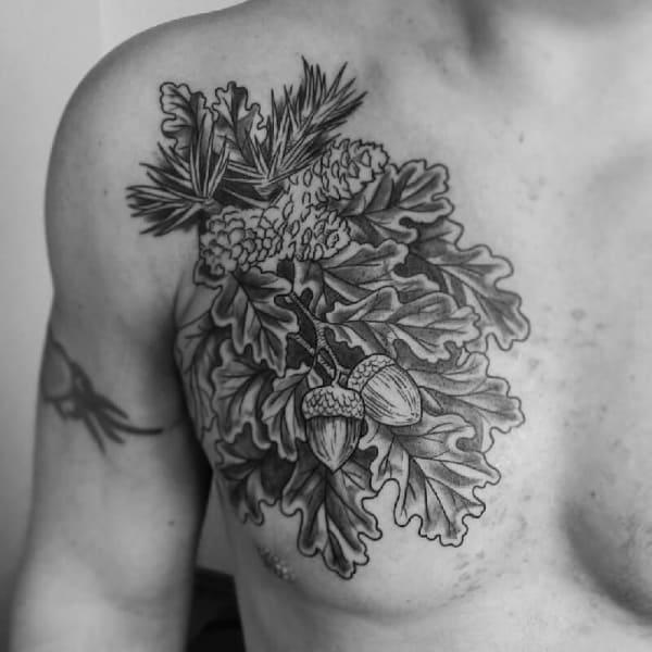 Oak Tree Tattoo Designs And Ideas