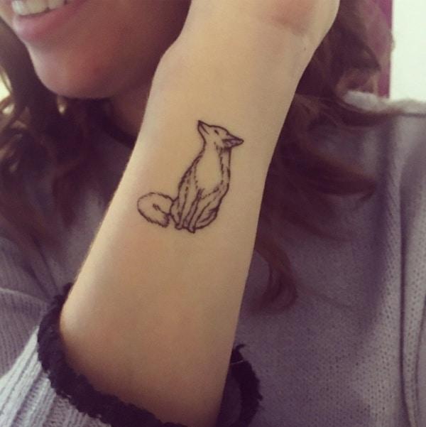 Eye Catching Fox Tattoo Designs