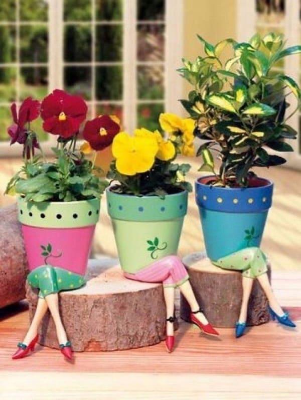 Beautiful Flower Pot Painting Ideas