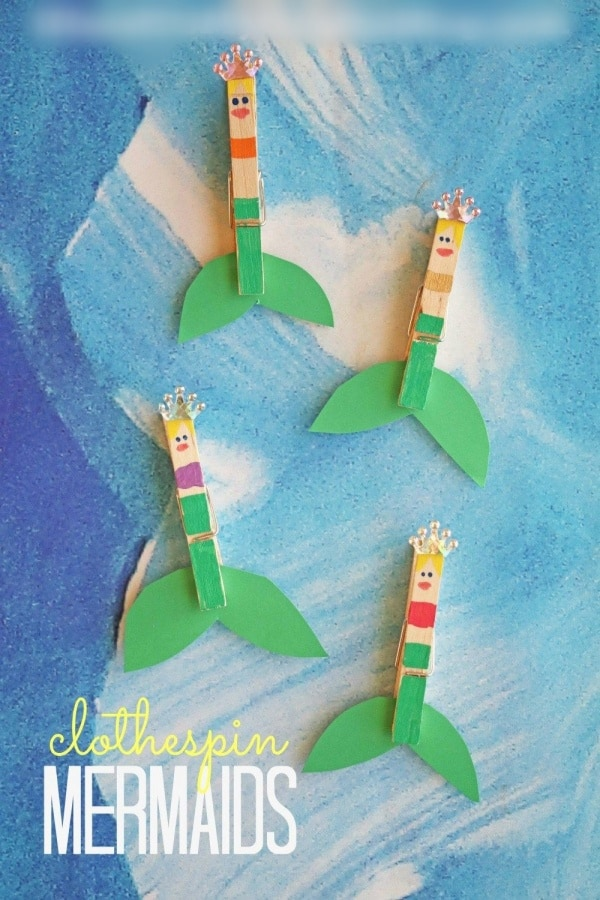 Easy Clothespin Crafts For Kids To Try