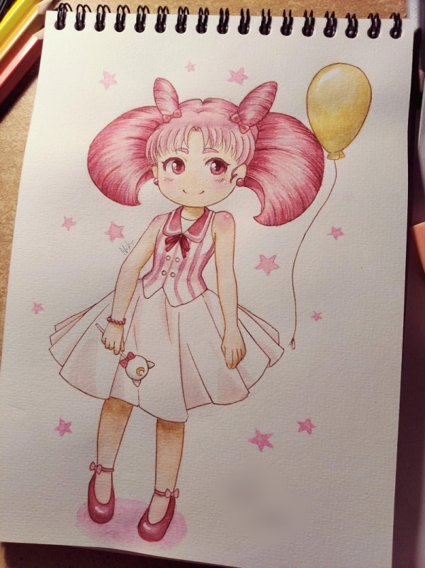 anime characters with pink hair