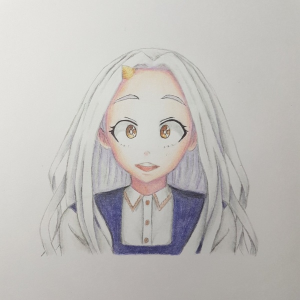 anime characters with white hair