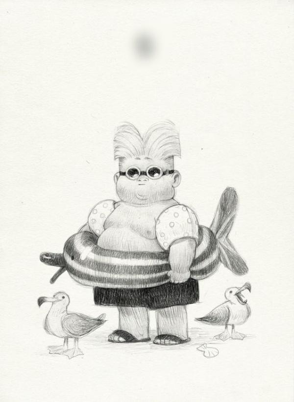 fat cartoon characters