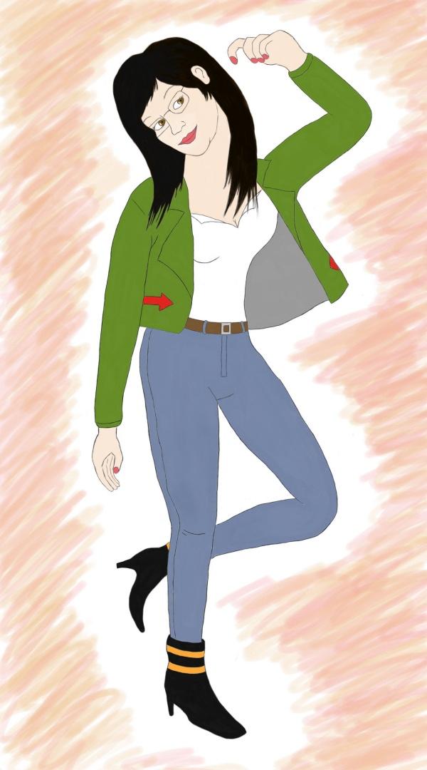 female cartoon characters